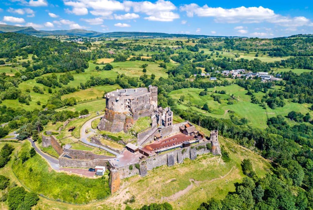 Patrimoine auvergnat, le château de Murol