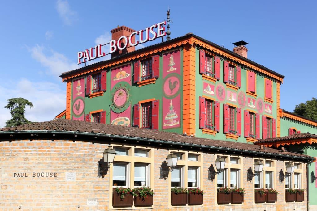 Le restaurant de Paul Bocuse en Rhône Alpes.
