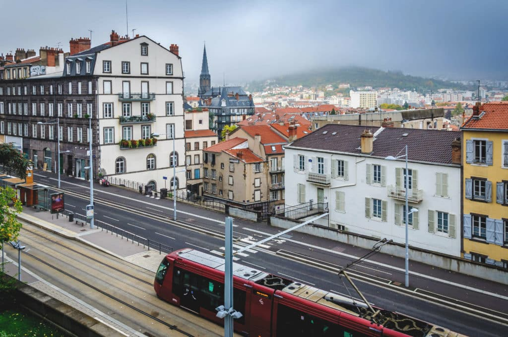 tramway de Clermont-Ferrand.