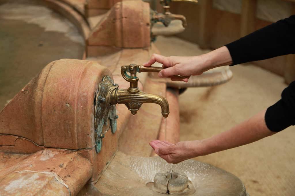 Source thermale de Vichy en Auvergne.