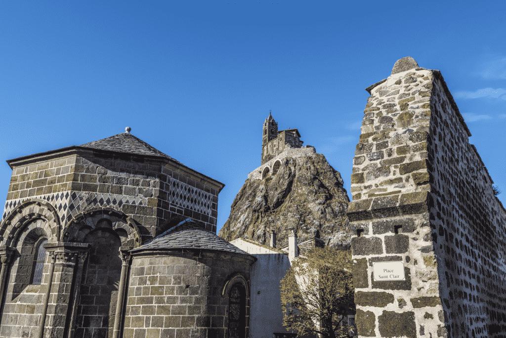 La chapelle Saint-Michel-d'Aiguilhe du Puy en Velay