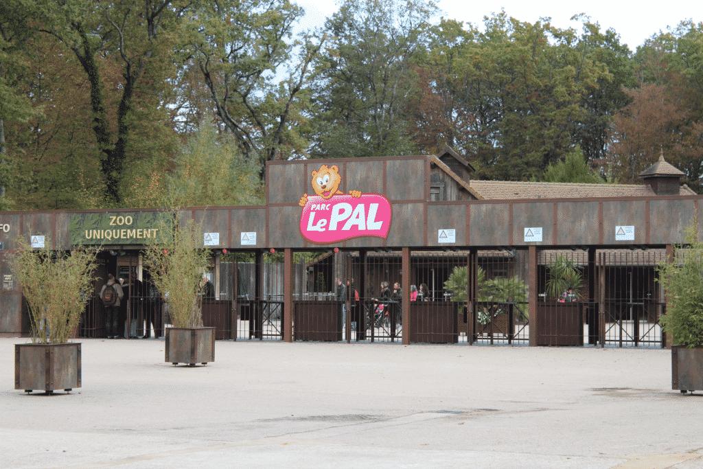 Parc d'attraction le Pal dans l'Allier.