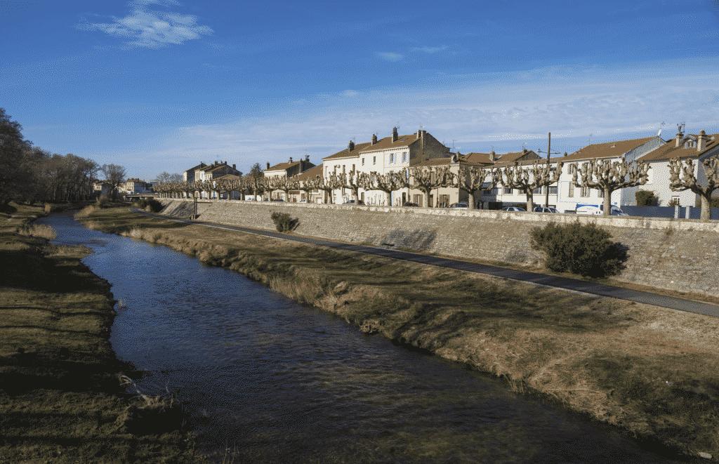 Vue sur la ville de Montélimar